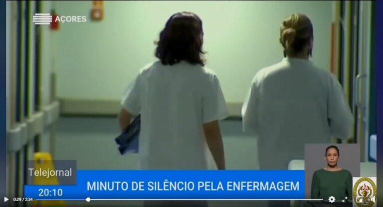 Minuto de silêncio de dia 30 de junho na RTP Açores