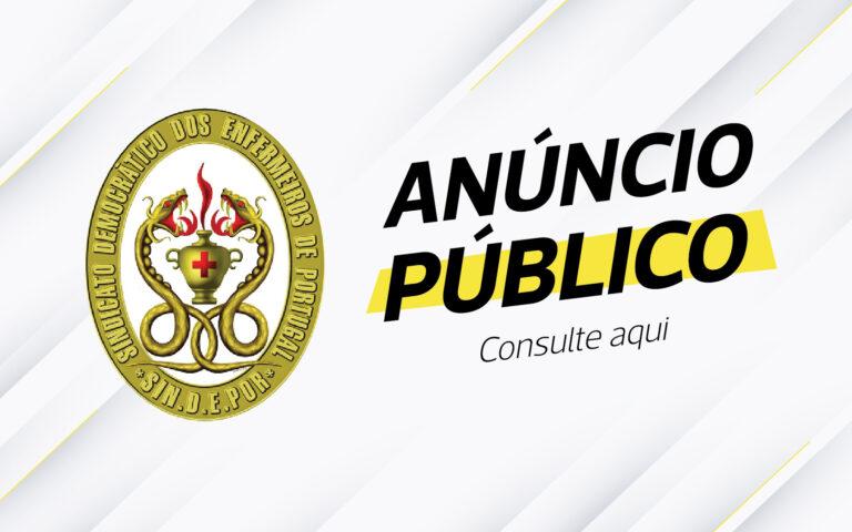 Anúncio Público
