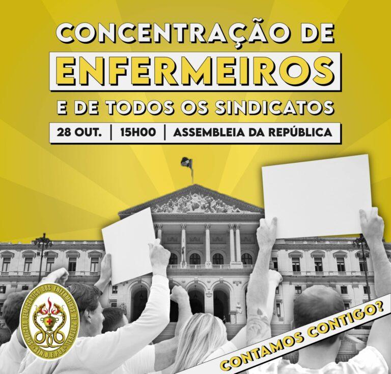 No dia 28 de Outubro todos os caminhos vão dar à Assembleia da República
